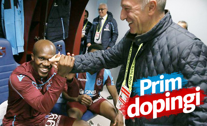 Trabzonspor'da Beşiktaş maçına prim dopingi