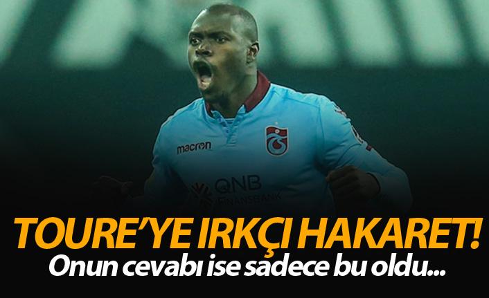 Beşiktaşlı taraftardan Toure'ye ırkçılık!
