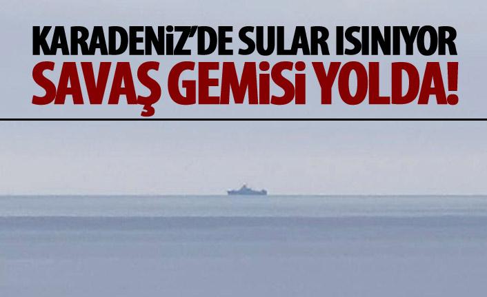 Karadeniz'de gerilim artıyor İngiltere...!