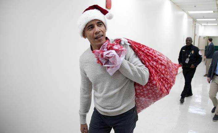 Obama'dan çocuklara büyük sürpriz