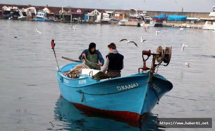 Trabzon'da balıkçılar dertli