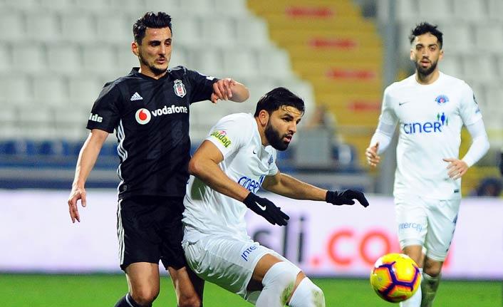 Beşiktaş Kasımpaşa'ya mağlup oldu