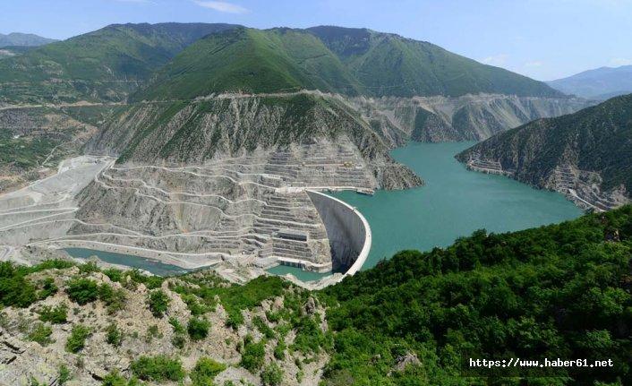 Türkiye'nin en hızlı akan nehri, göle döndü