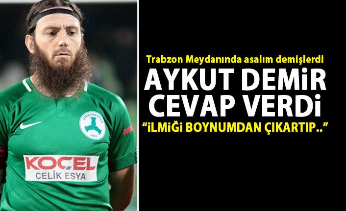 """Aykut Demir böyle cevap verdi """"İlmiği benim boynumdan çıkartıp..."""""""