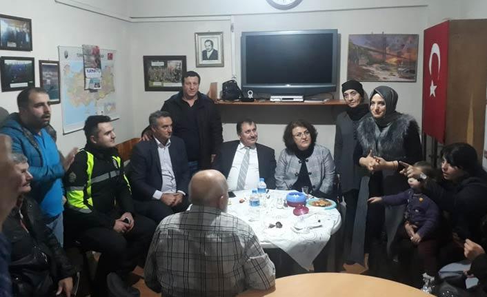 Orhan Çevik'ten  İşitme ve Konuşma Engelliler derneğine ziyaret