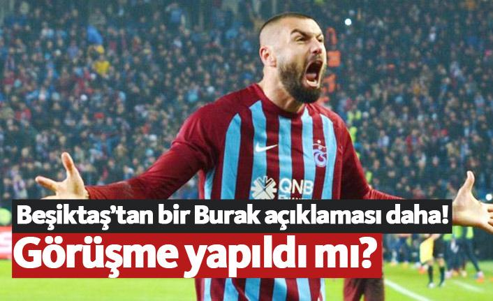 Beşiktaş'tan bir Burak Yılmaz açıklaması daha!