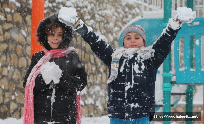 Kar tatiline en çok onlar sevindi