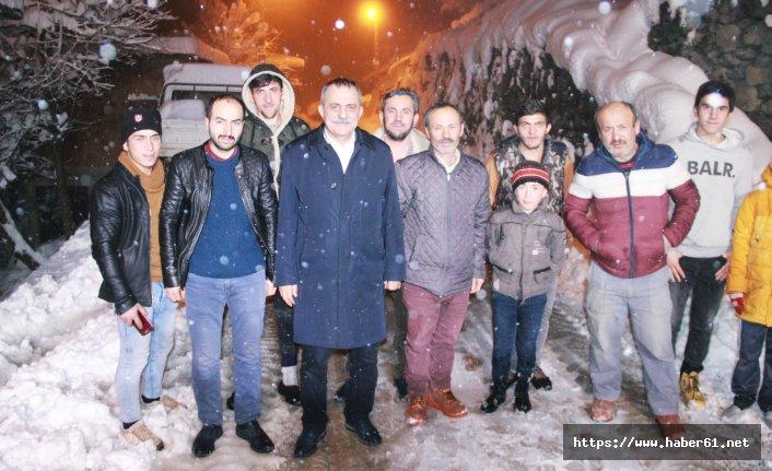 Yomra'da 11 Mahalle yolu ulaşıma açıldı