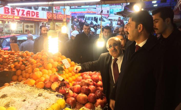 Bakan Kurum Trabzon Kadınlar Pazarı'nda!