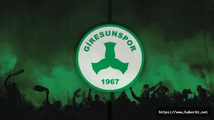 Giresunspor'da flaş ayrılık