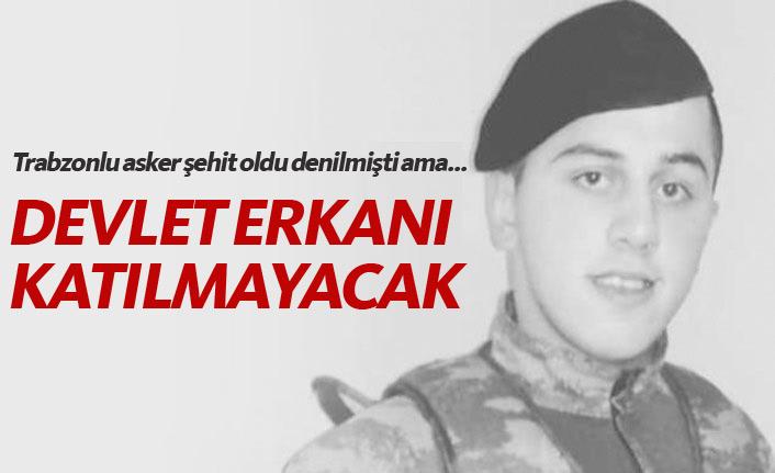 Trabzonlu asker ölü bulundu!