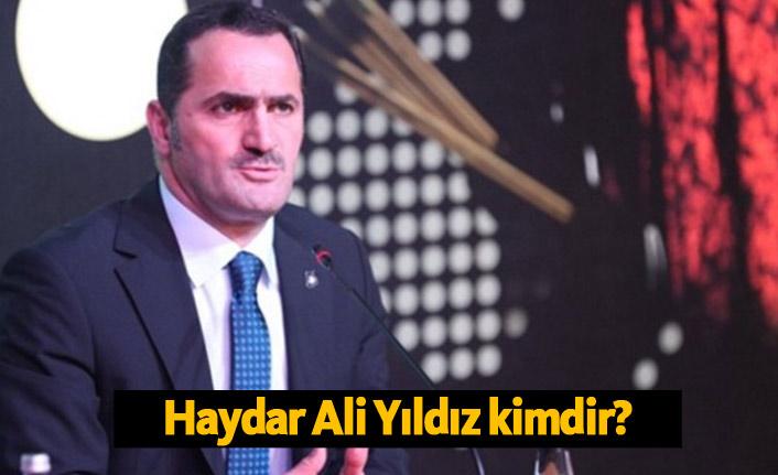 AK Parti Beyoğlu Belediye başkan adayı Haydar Ali Yıldız Kimdir?