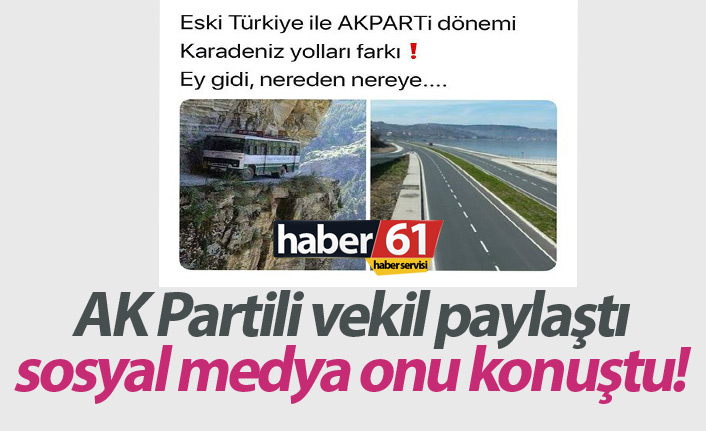 AK Partili Çamlı'nın tweeti olay oldu