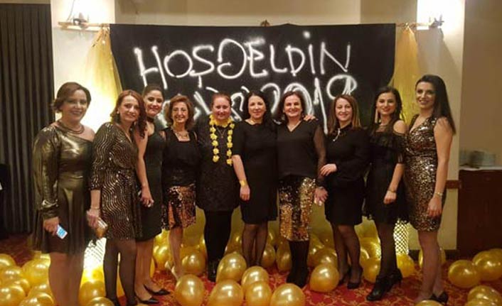 Trabzon'da Kadın Sağlıkçılardan yeni yıl partisi