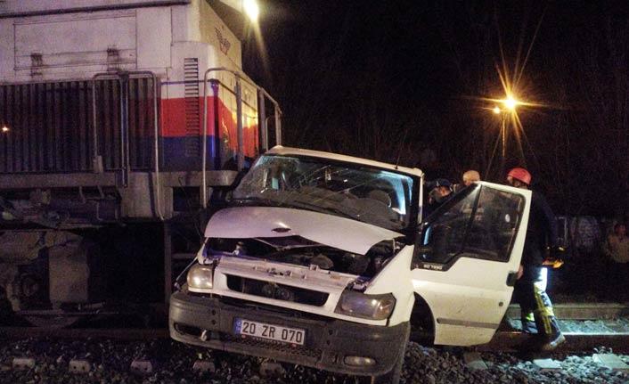 Tren kazası: 5 yaralı