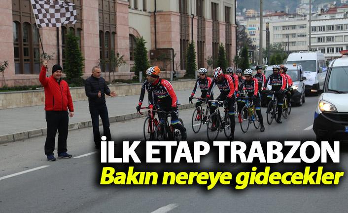 Sarıkamış şehitleri için yola çıktılar - İlk etap Trabzon