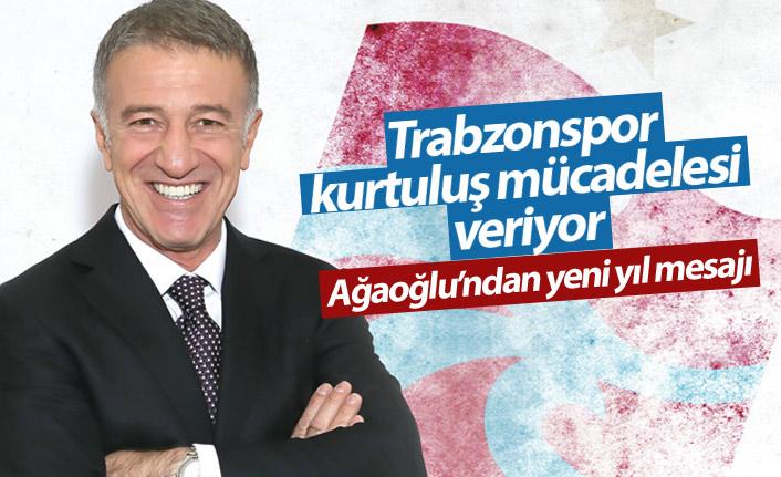 Ağaoğlu: Trabzonspor bir kurtuluş mücadelesi veriyor