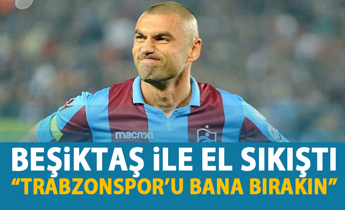 Burak Yılmaz Beşiktaş'a söz verdi