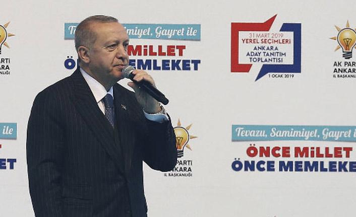 Cumhurbaşkanı Erdoğan, AK Parti'nin Ankara adaylarını açıkladı
