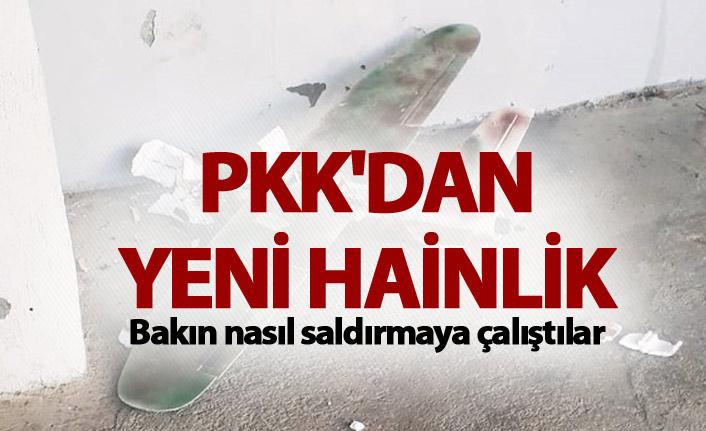 PKK'dan yeni hainlik - Bakın nasıl saldırmaya çalıştılar