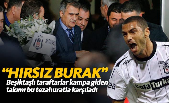 Beşiktaş taraftarından Burak Yılmaz tepkisi!