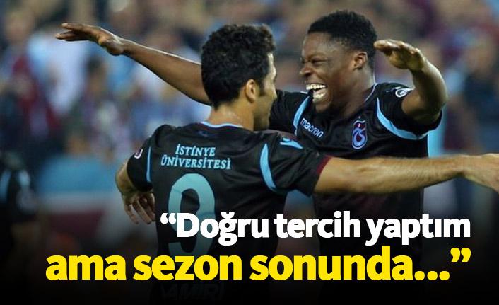 Ekuban Trabzonspor'a geldiği için mutlu