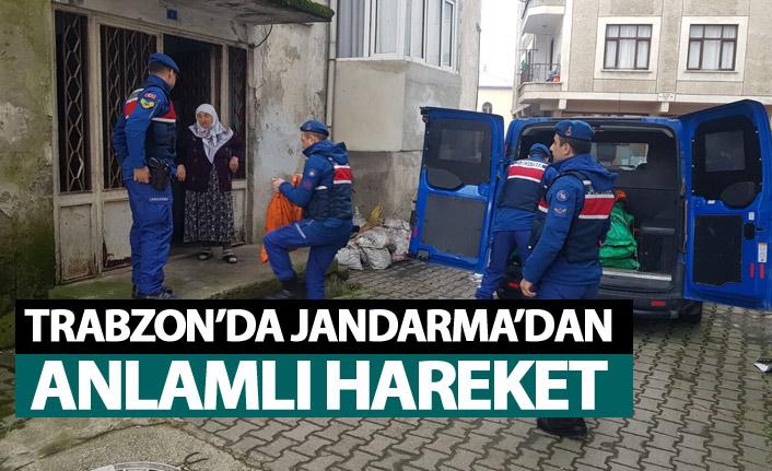 Trabzon'da Jandarma'dan anlamlı hareket