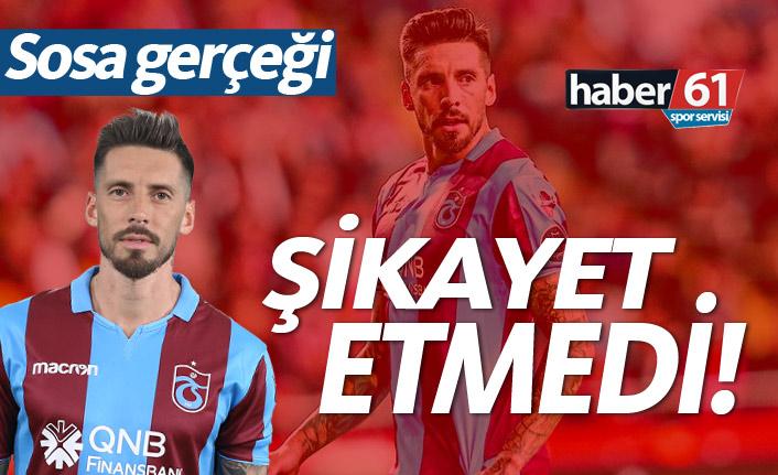 Sosa ve Kucka Trabzonspor'u şikayet etmedi!