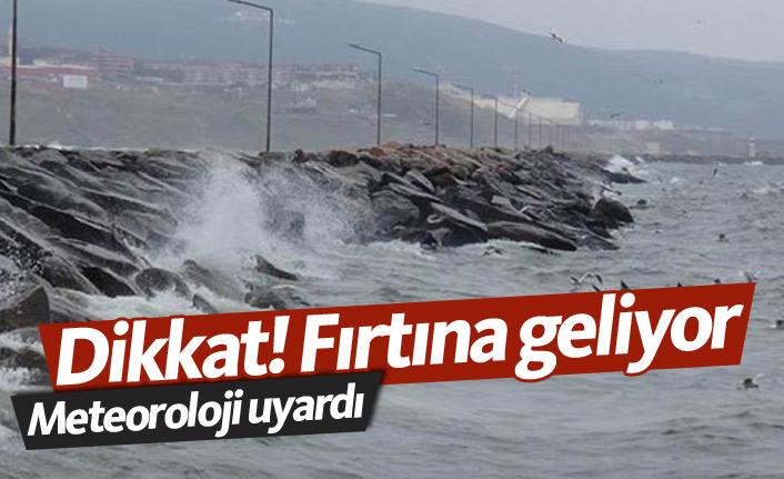 Doğu Karadeniz'e fırtına uyarısı!