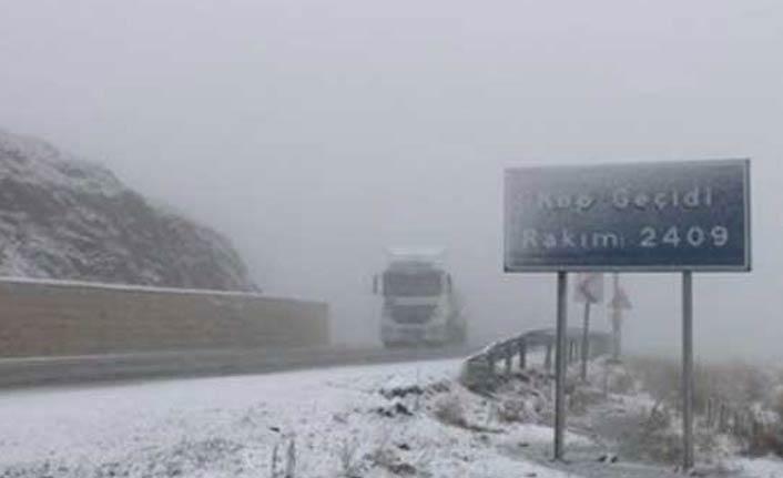 Kop Dağı Geçidi ulaşıma açıldı