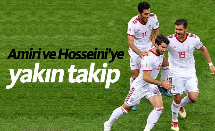 Trabzonspor'da Hosseini ve Amiri'ye yakın takip