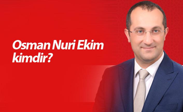 AK Parti Akçaabat Belediye Başkan Adayı Osman Nuri Ekim kimdir?