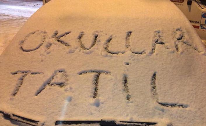 Trabzon'da 5 ilçede okullar tatil!
