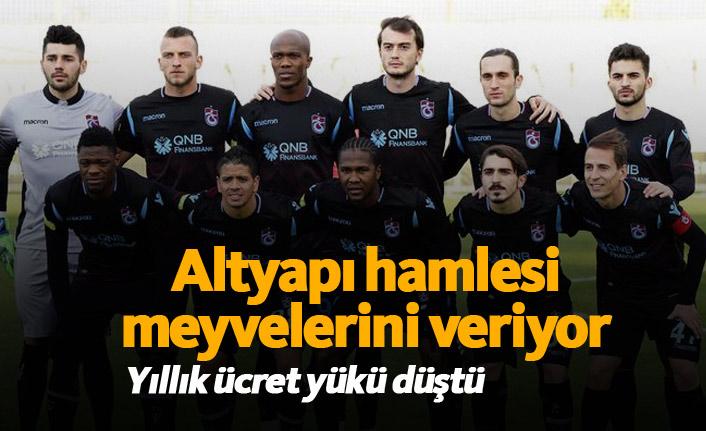 Trabzonspor'da altyapı projesi meyvelerini veriyor