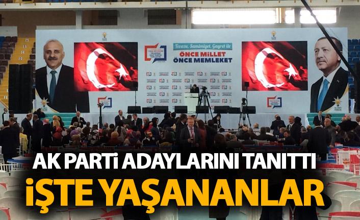 Cumhurbaşkanı Erdoğan Trabzon ilçe belediye başkan adaylarını açıkladı