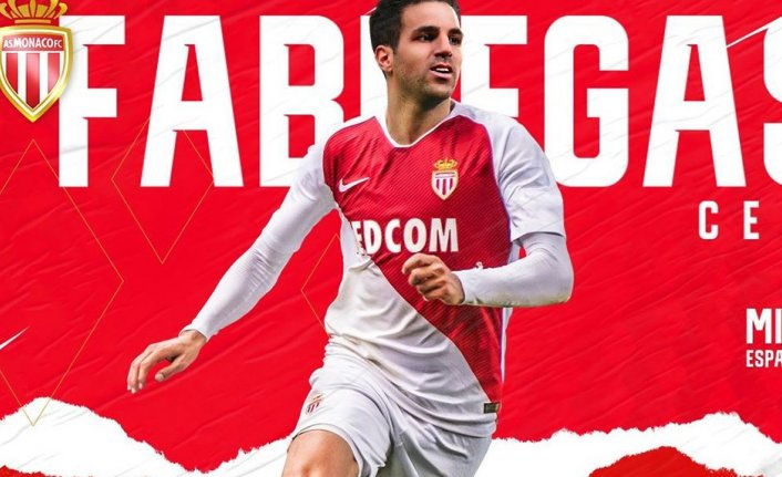 Fabregas, Monaco'da!