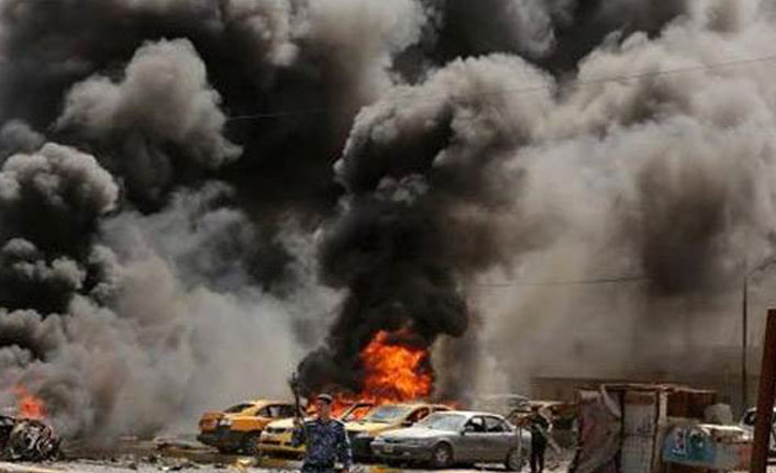 Irak'ta bombalı saldırı: 2 ölü, 25 yaralı