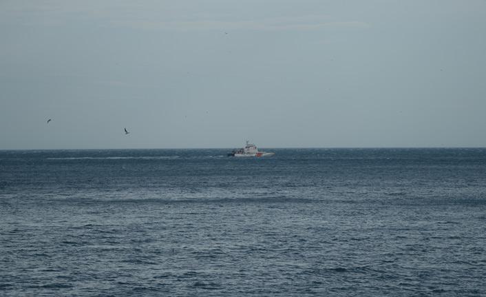 Sinop'ta denizde kaybolan kişi hala bulunamadı