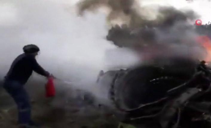 Son dakika! İran'da kargo uçağı düştü