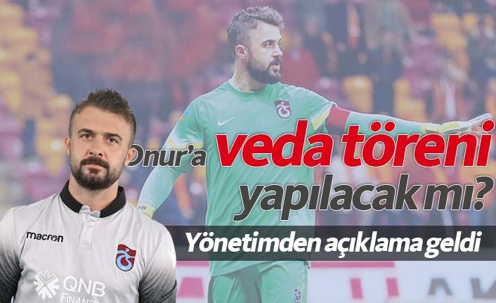 Trabzonspor Onur'a tören düzenleyecek mi?