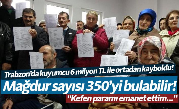 Trabzon'da kuyumcunun dolandırdığı mağdurlar suç duyurusunda bulundu