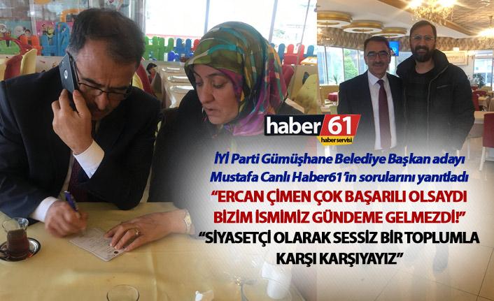 """Mustafa Canlı: """"Ercan Çimen çok başarılı olsaydı bizim ismimiz gündeme gelmezdi!"""""""