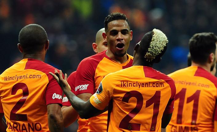 Galatasaray sahasında farklı kazandı!