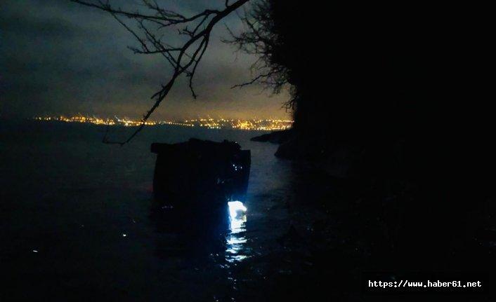 Sinop'ta trafik kazası 2 yaralı