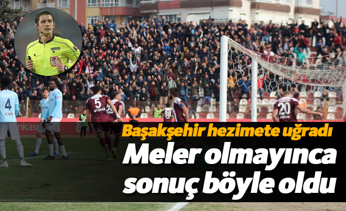 Başakşehir Halil Umut Meler'in eksikliğini hissetti!