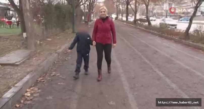 Engelli çocuğundan dolayı dolmuştan indirildi