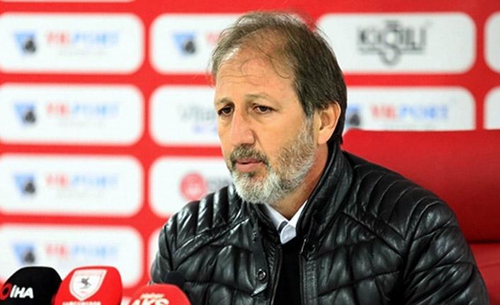 Samsunspor'da teknik direktör Taşkın ayrıldı