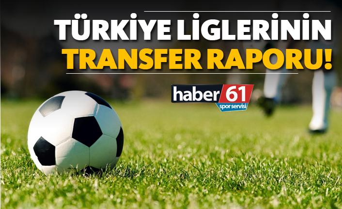Türkiye Liglerinin transfer raporu!