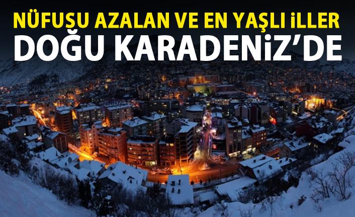 Türkiye'de sadece Gümüşhane'nin nüfusu azaldı