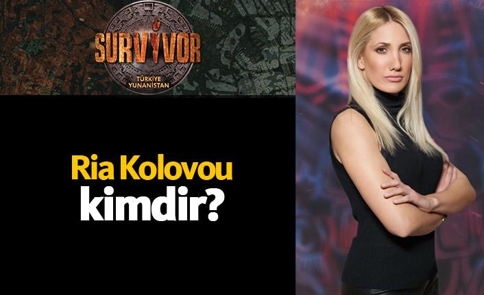 Survivor Yunanistan yarışmacısı Ria Kolovou kimdir?